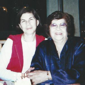 Susana and her mother Maria