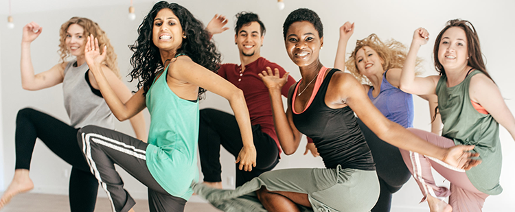 exercise class participants