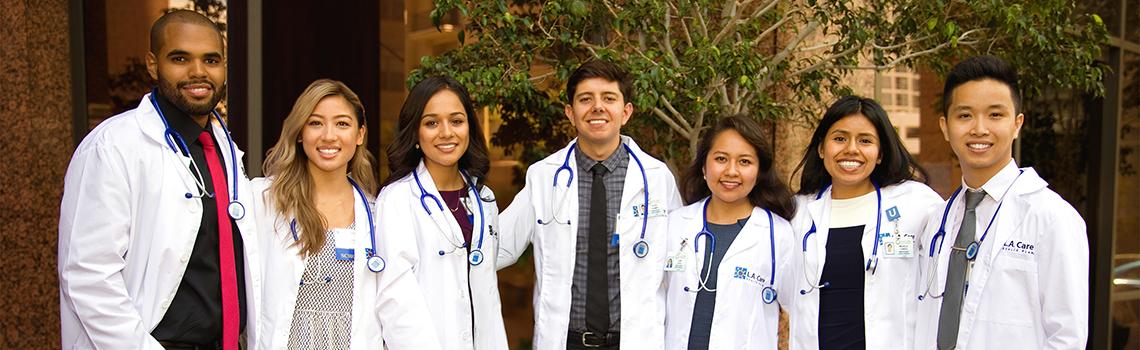 7 medical students