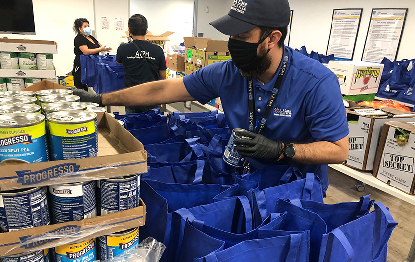 L.A. Care Tackles Food Insecurity Caused by COVID-19